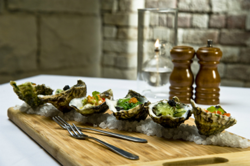 Trio Of Oysters 3