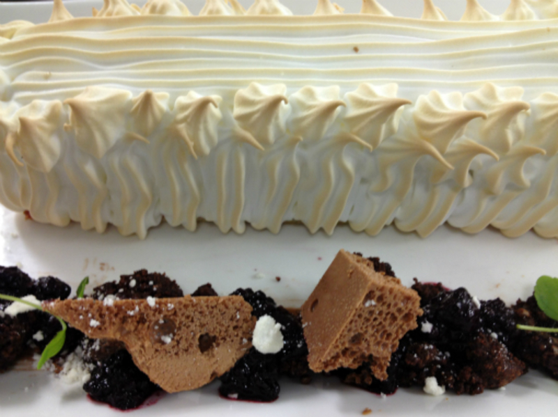 Baked Alaska for 2 people