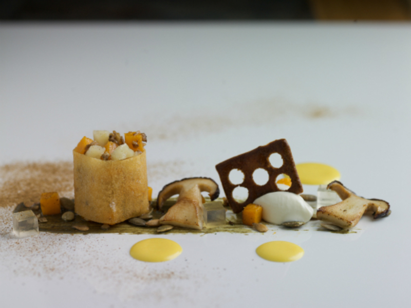 Butternut Squash Pumpkin And Ceps