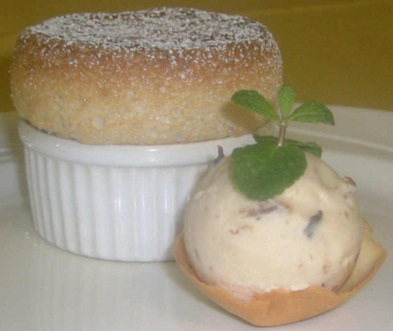 Prune And Armgnac Souffle