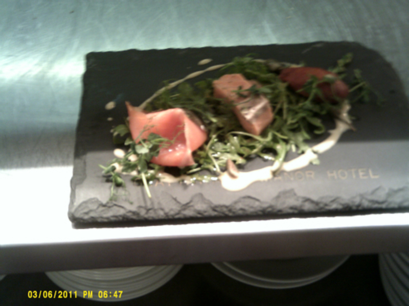 Assiette Of Salmon