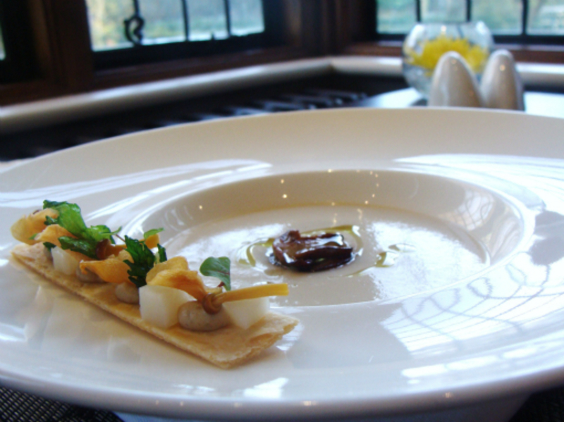 Jerusalem Artichoke Soup And Cep