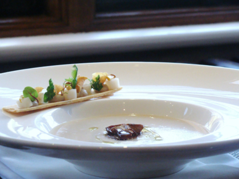 Jerusalem Artichoke Soup And Cep1