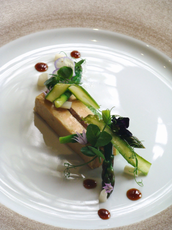 Foie Gras And Asparagus