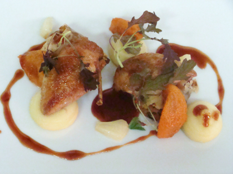 Quail Fennel And Apricots