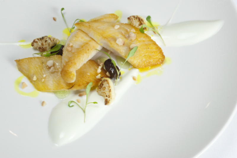 Seared John Dory Caramelised Cauliflower Lime Vanilla Curry