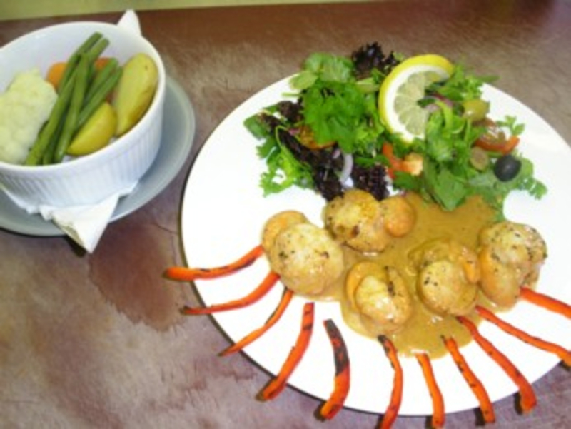 Hand-dived Isle of Skye King scallops