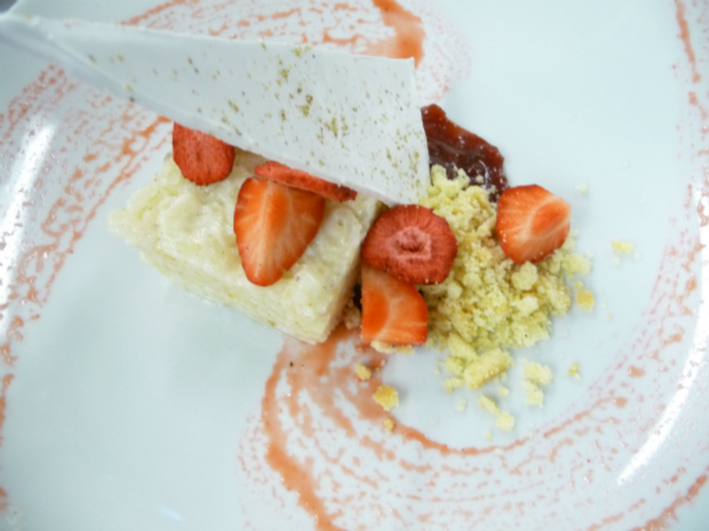 Chilled Rice Pudding Rhubarb Thyme Ram