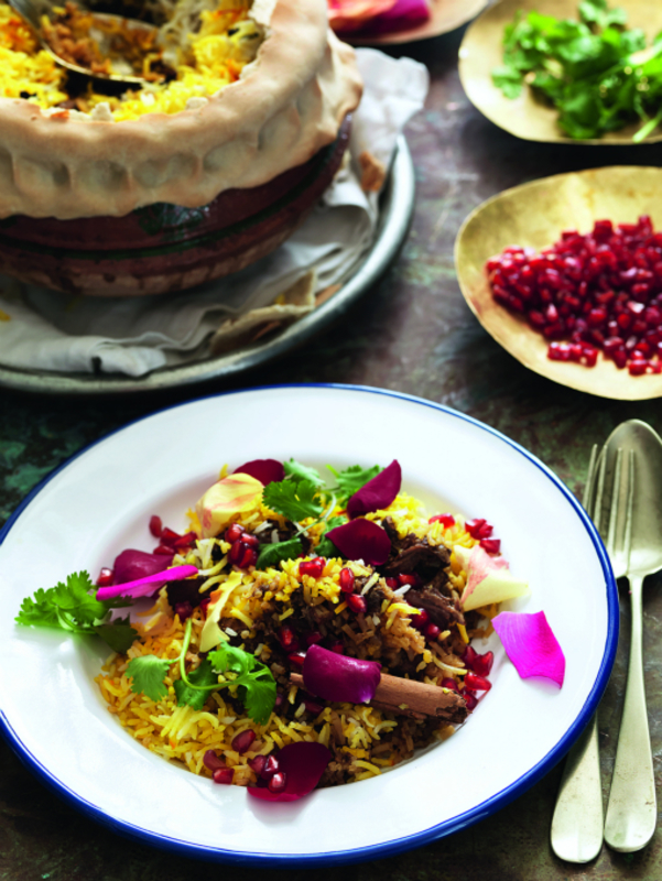 CLOVE, ROSE AND Mutton Biryani by Steve Parle
