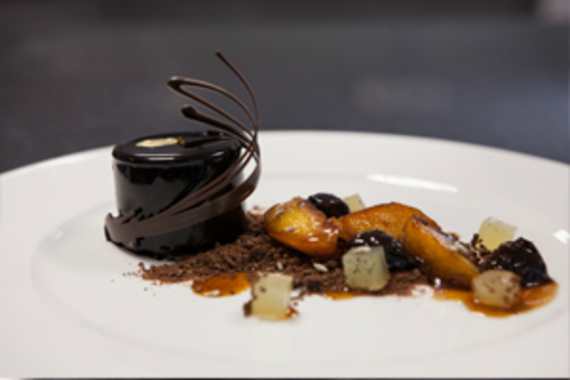 Gastronomic Chocolate Dessert