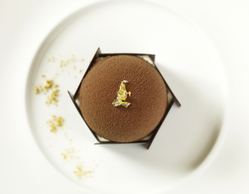 Chicory Mousse - by Featured Chef Martin Burge, Whatley Manor