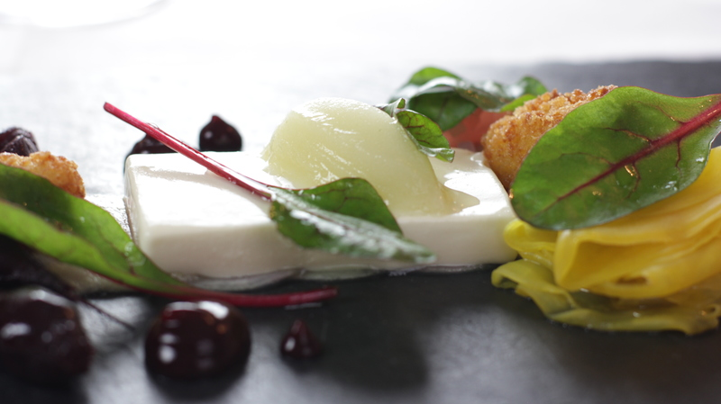 Goats cheese and beetroot by Nigel Mendham - 1