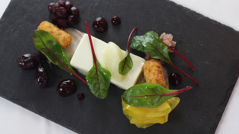 Goats cheese and beetroot by Nigel Mendham - 2