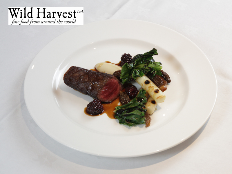 South Downs venison Charred celeriac, osso bucco & blackberries by Nigel Mendham - 1