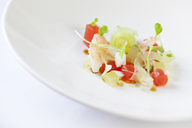 South Devon crab claw recipe with pickled cucumber salad