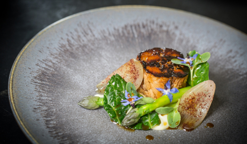 South Coast Turbot, Broccoli Kombu, Mussels And Sesame by Steve Drake