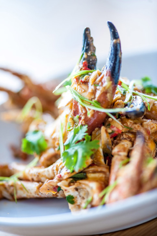 Cornish chilli crab