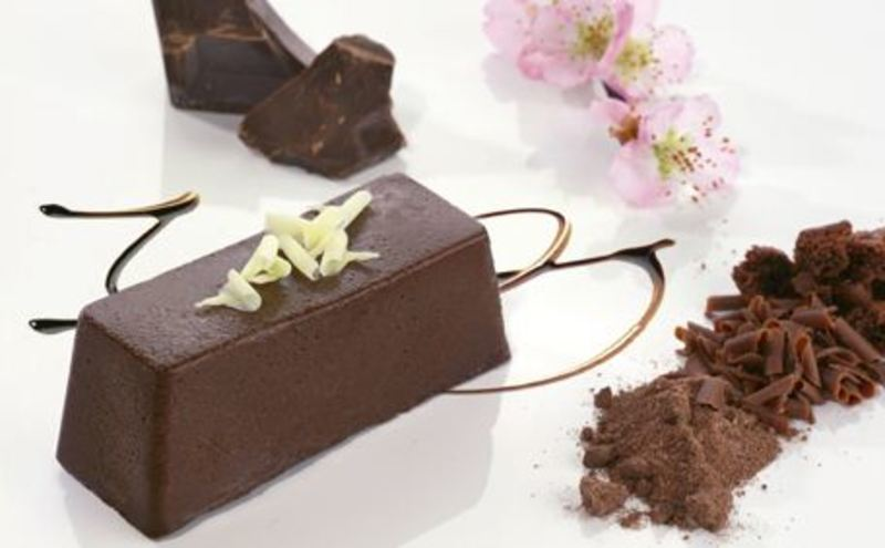 Chocolate Ganache Terrine