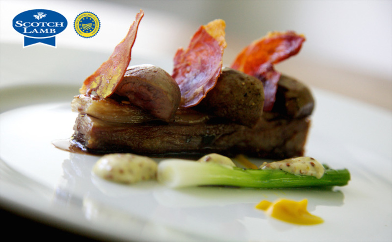 Seared Scotch Lambs kidney, crisp flank, anchovy mustard - 2