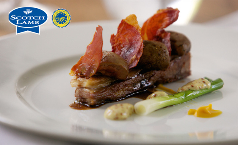 Seared Scotch Lambs kidney, crisp flank, anchovy mustard - 8