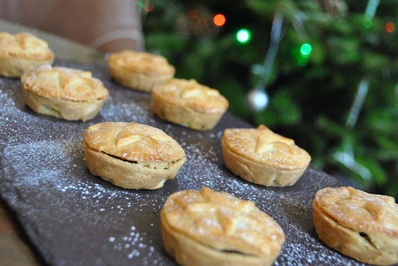 Manor House Mince Pies by Executive Chef Richard Davies at The Manor House Hotel, Castle Combe