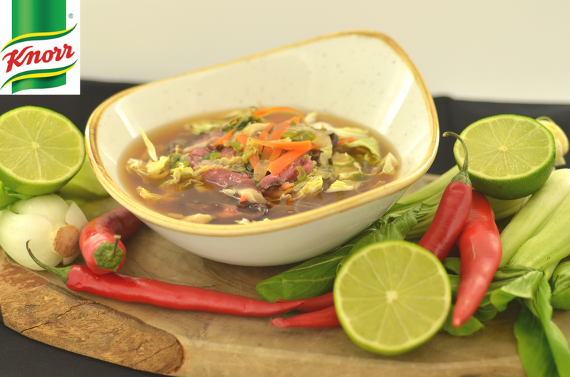 Asian beef broth