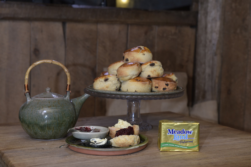 Fruit scones by Steven Doherty, consultant chef at Askham Hall