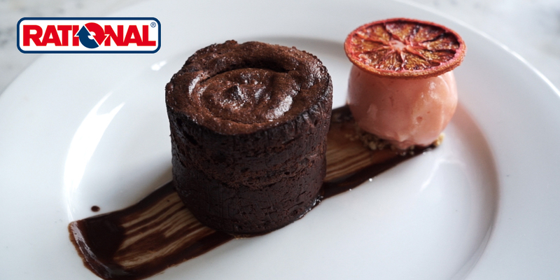 Baked chocolate pudding from Alan Bird