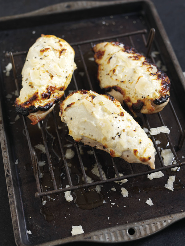 Baked Parmigiano Reggiano and Greek Yoghurt Chicken