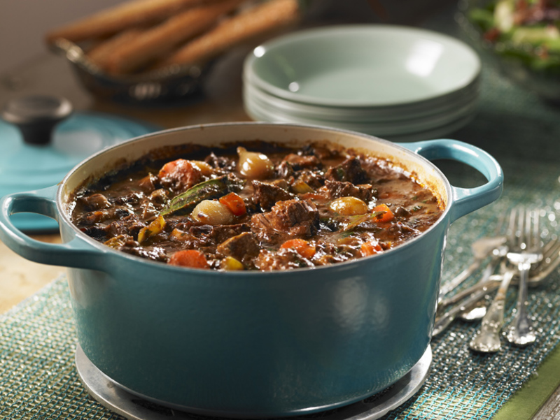 Maple-braised Venison Bourguignon
