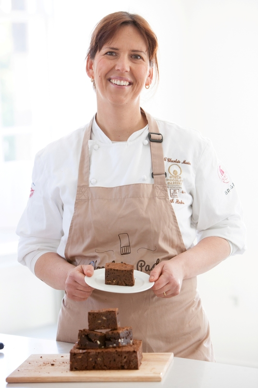 Ruth Hinks (UK World Chocolate Master) encourages the nation's chefs to download her chocolate brownie recipe and help raise money for Marie Curie. - 2