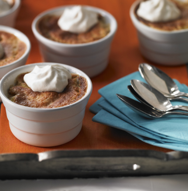 Maple-Soaked Brioche Bread Pudding