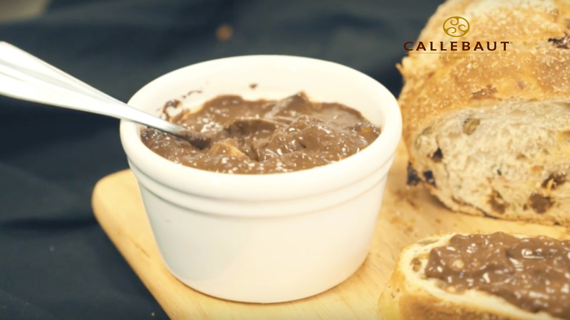 Chocolate and Banana Jam Spread