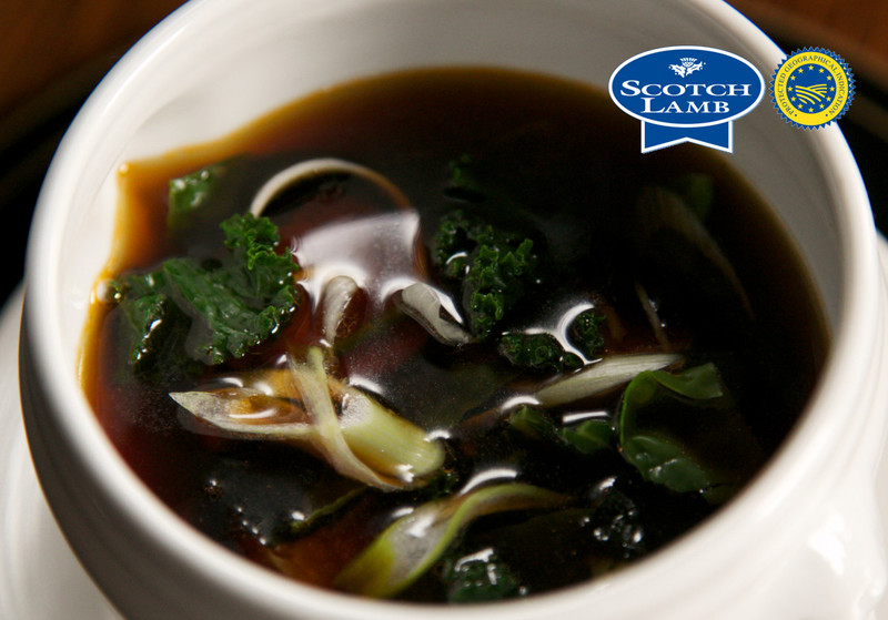 Marsh Scotch Lamb and seaweed consomme - 1