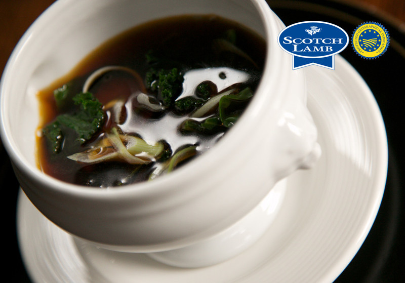 Marsh Scotch Lamb and seaweed consomme - 2