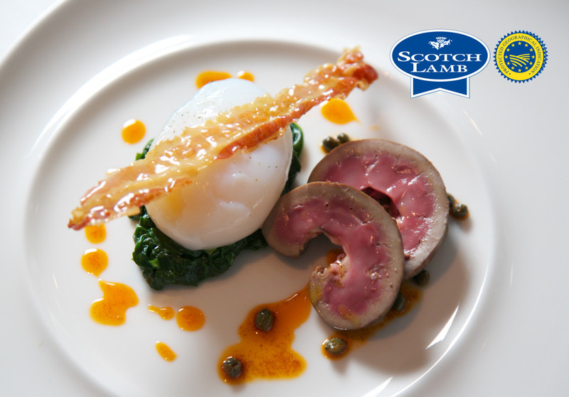 Grilled Scotch Lamb Kidneys, Slow Poached Duck Egg, Devilled Butter - 2