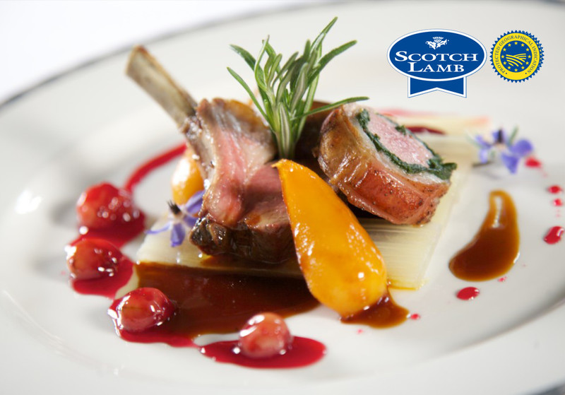 Saddle and cutlet of Scotch Lamb by Gleneagles Hotel, in association with Quality Meat Scotland. Photography by Guy Hinks.