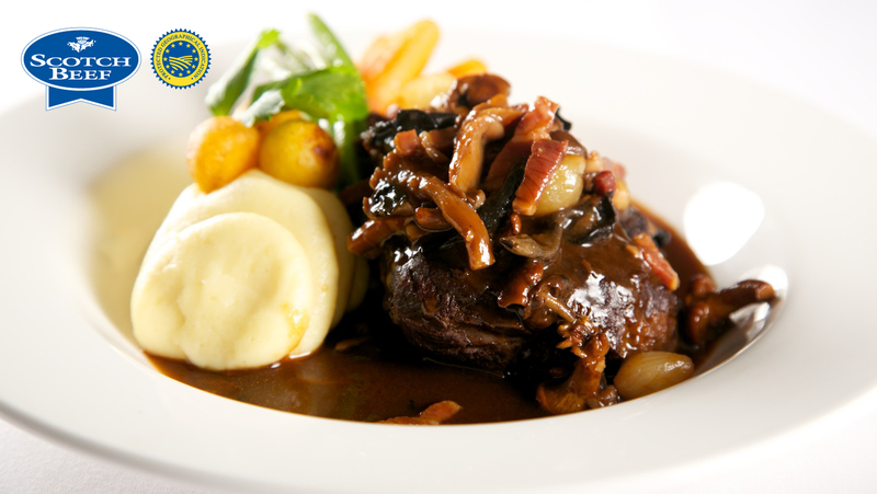 Scotch Beef Cheek by Martin Hollis, The Old Course