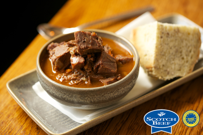 Scotch Beef Ox Broth Soup by Porter and Rye - 2