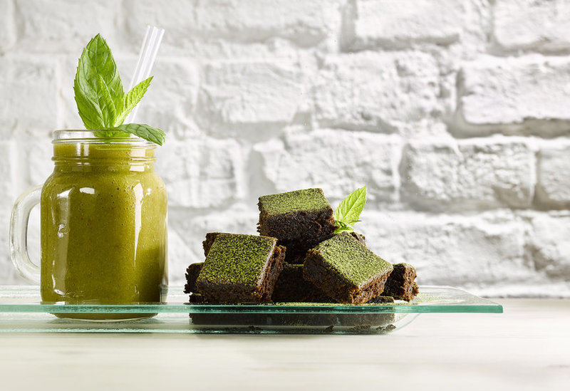 Matcha Brownies recipe