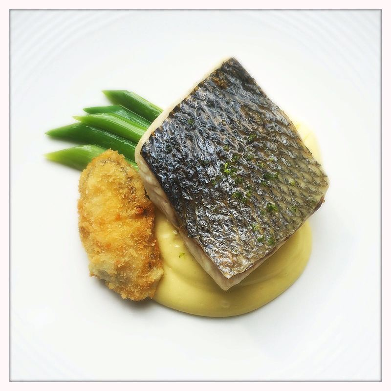 BASS, OYSTER, LEEKS, HOLLANDAISE