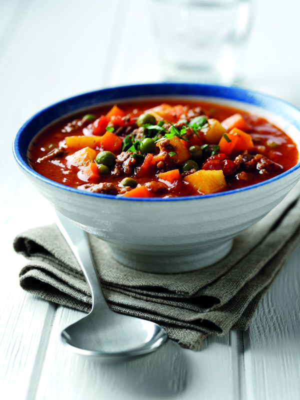 Beef, Potato and Vegetable Soup