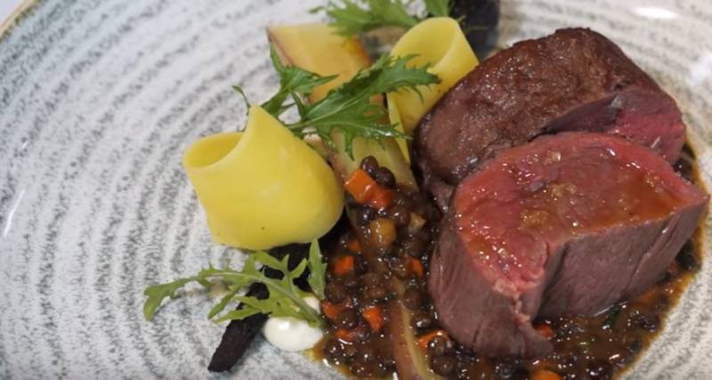 Rib of beef, puy lentils, heritage carrots and horseradish - 1