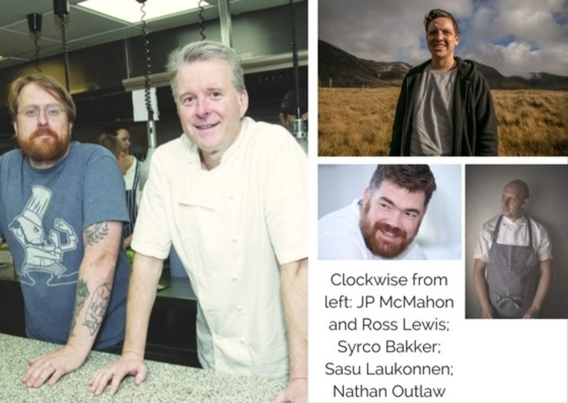 Guest Chefs Join JP McMahon in Creating Four-Hand Michelin Star Meal in Aniar, Galway.