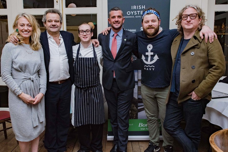 SHUCK'S SIMON LAMONT WINS UK'S FIRST EVER BEST DRESSED IRISH OYSTER COMPETITION - 2