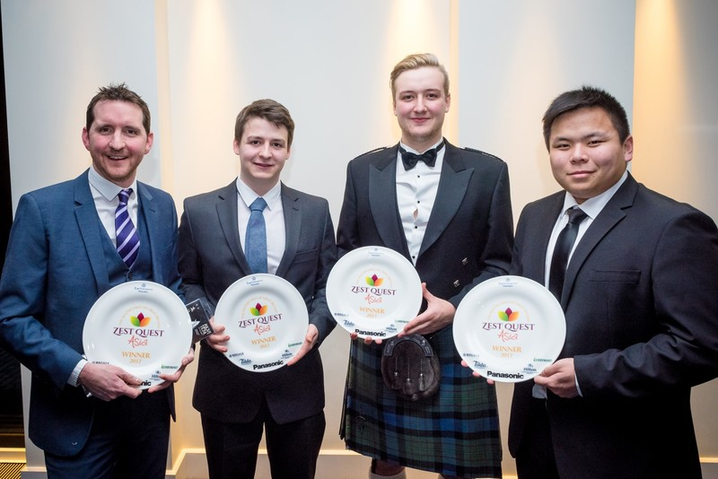 ZEST QUEST ASIA 2017 NOW A PASSPORT TO JAPAN FOR UNIVERSITY COLLEGE BIRMINGHAM CATERING STUDENTS