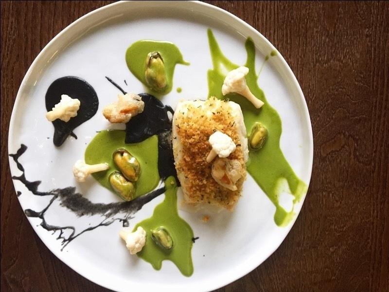 Cod, Lovage, Mussels