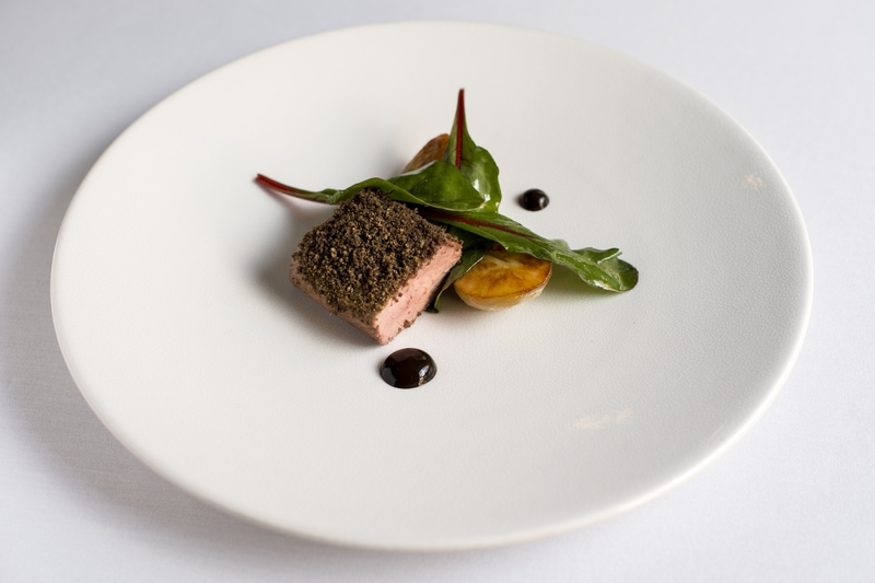 Alan Newell's Mourne Lamb, Comber potatoes & Walled Garden leaves - Serves 2