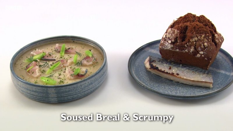 Soused Breal and Scrumpy – my fish course for Great British Menu 2017