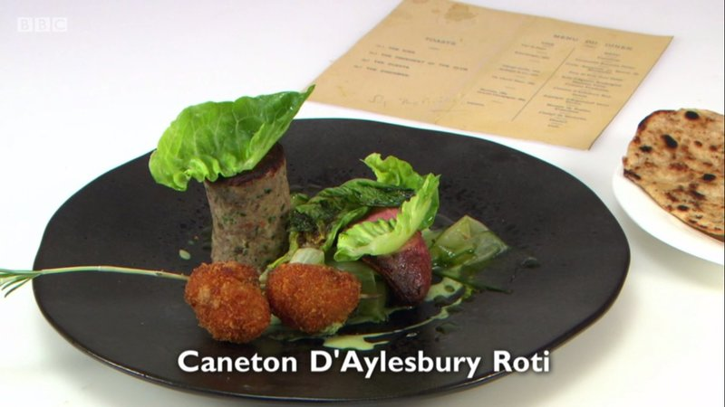 Caneton d'Aylesbury Roti – my main course for Great British Menu 2017